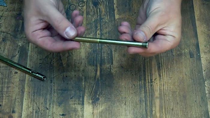 Как сделать универсальную быстрозажимную ручку для инструментов