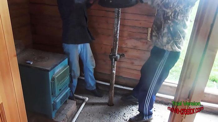 Как сделать скважину для воды без буровой установки