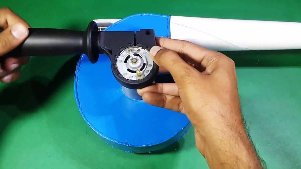 Как сделать мощную турбо воздуходувку