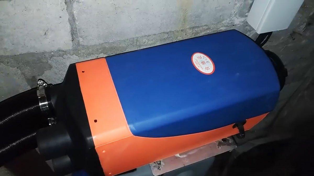 Автономный отопитель для гаража