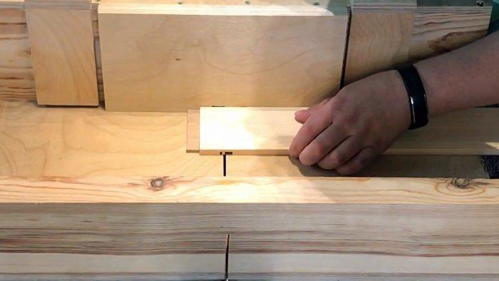 Как сделать деревянную декоративную решетку на циркулярной пиле