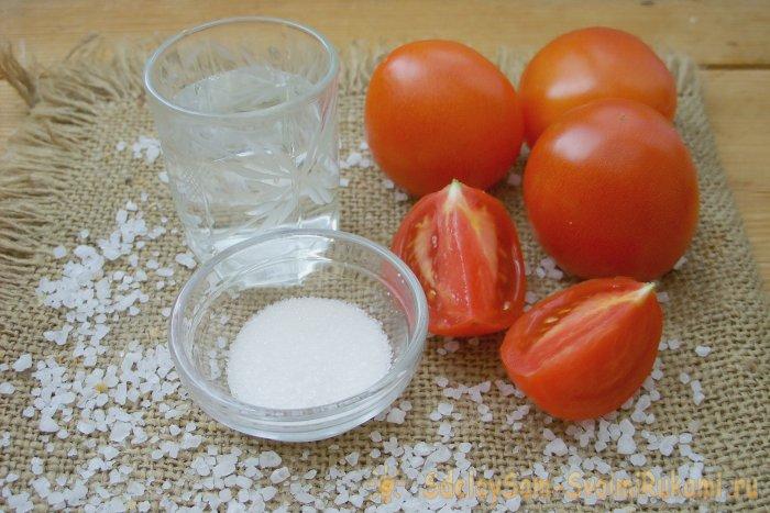 Готовим томатный сок на зиму