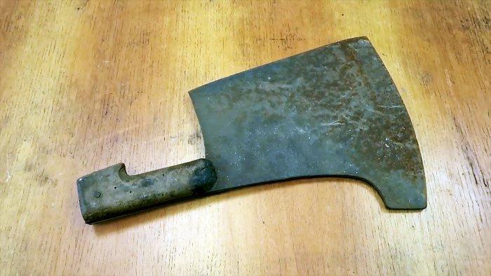 Как отлить алюминиевую рукоятку на нож или тесак