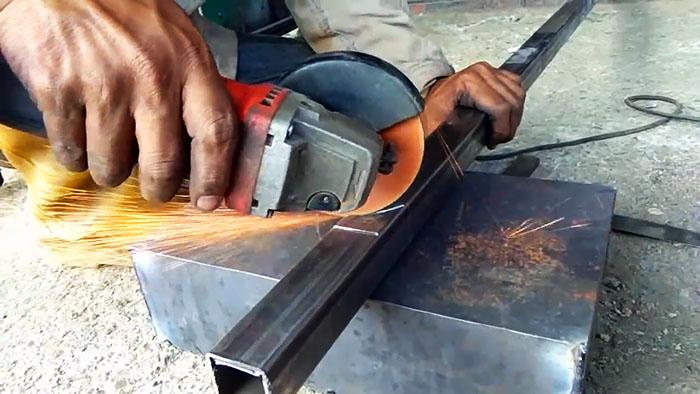Как плавно изогнуть профильную трубу без трубогиба и нагрева