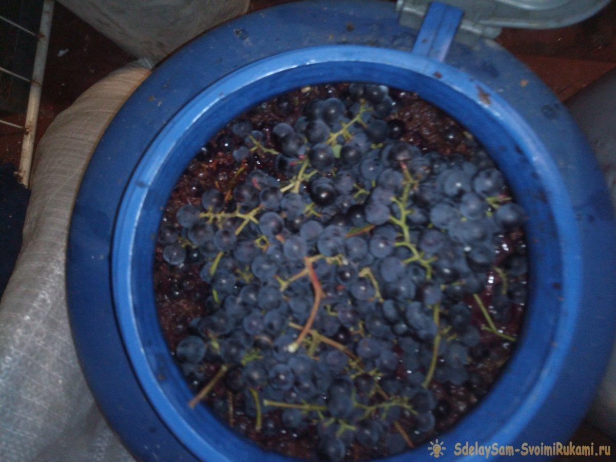 Как сделать ленивое вино