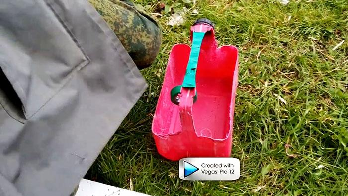 Отличный ящик для инструментов из пластиковой канистры