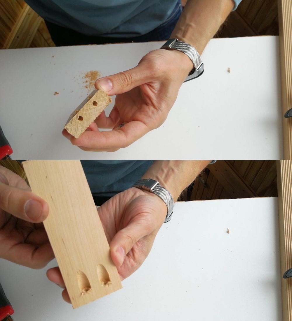 Дешевый и надежный кондуктор для соединения на «косой шуруп»