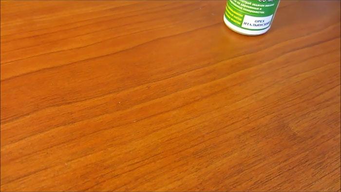 Как убрать царапину на мебели быстро и просто