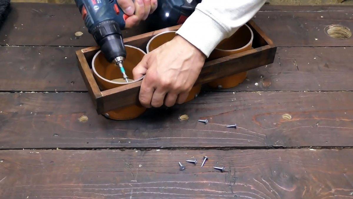 Мега удобная Полка-трансформер для мастерской