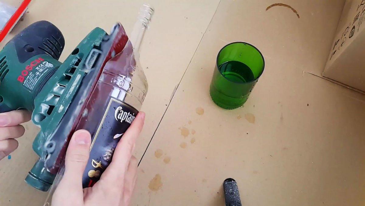 Как разрезать бутылку вдоль и сделать оригинальную посуду