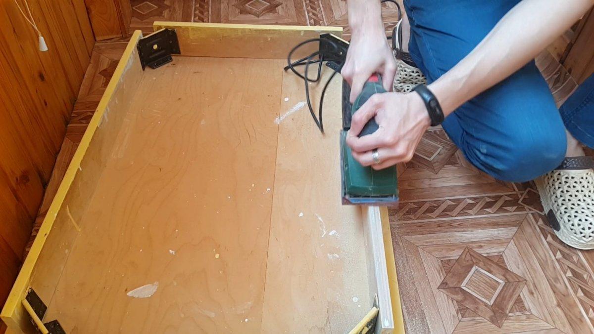 Новая жизнь для старого стола