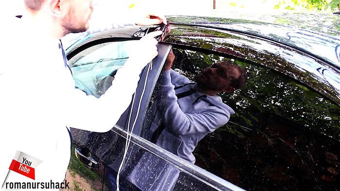 Как открыть свой автомобиль за 30 секунд без ключа