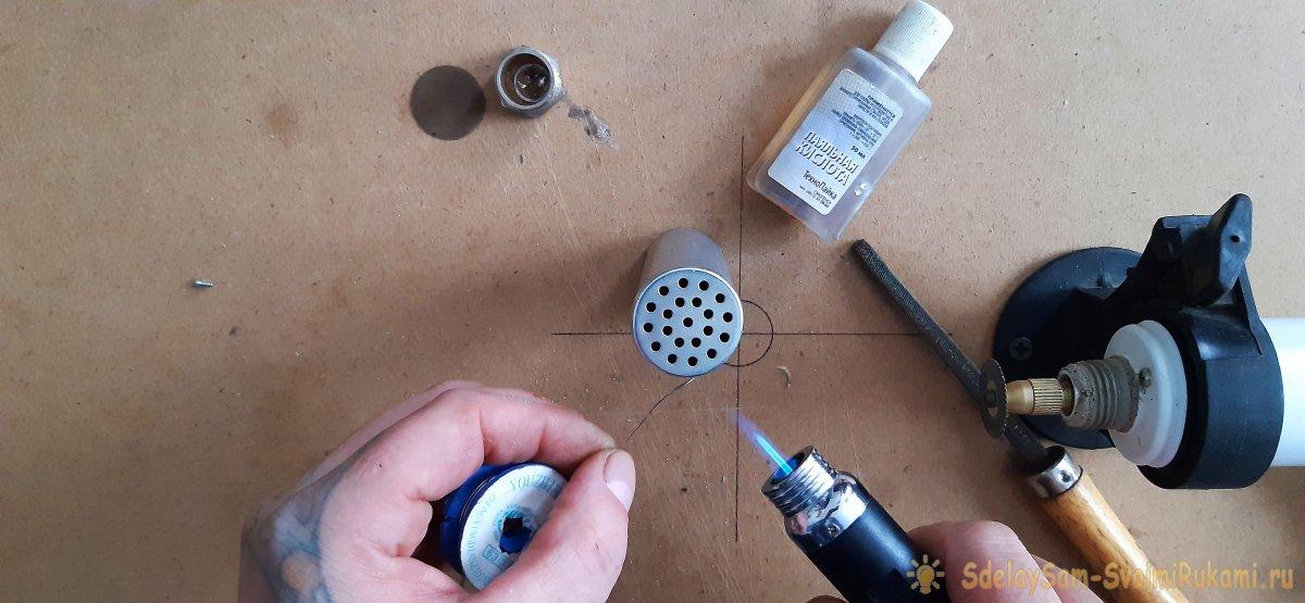 Как сделать карманную печь - грелку для рук