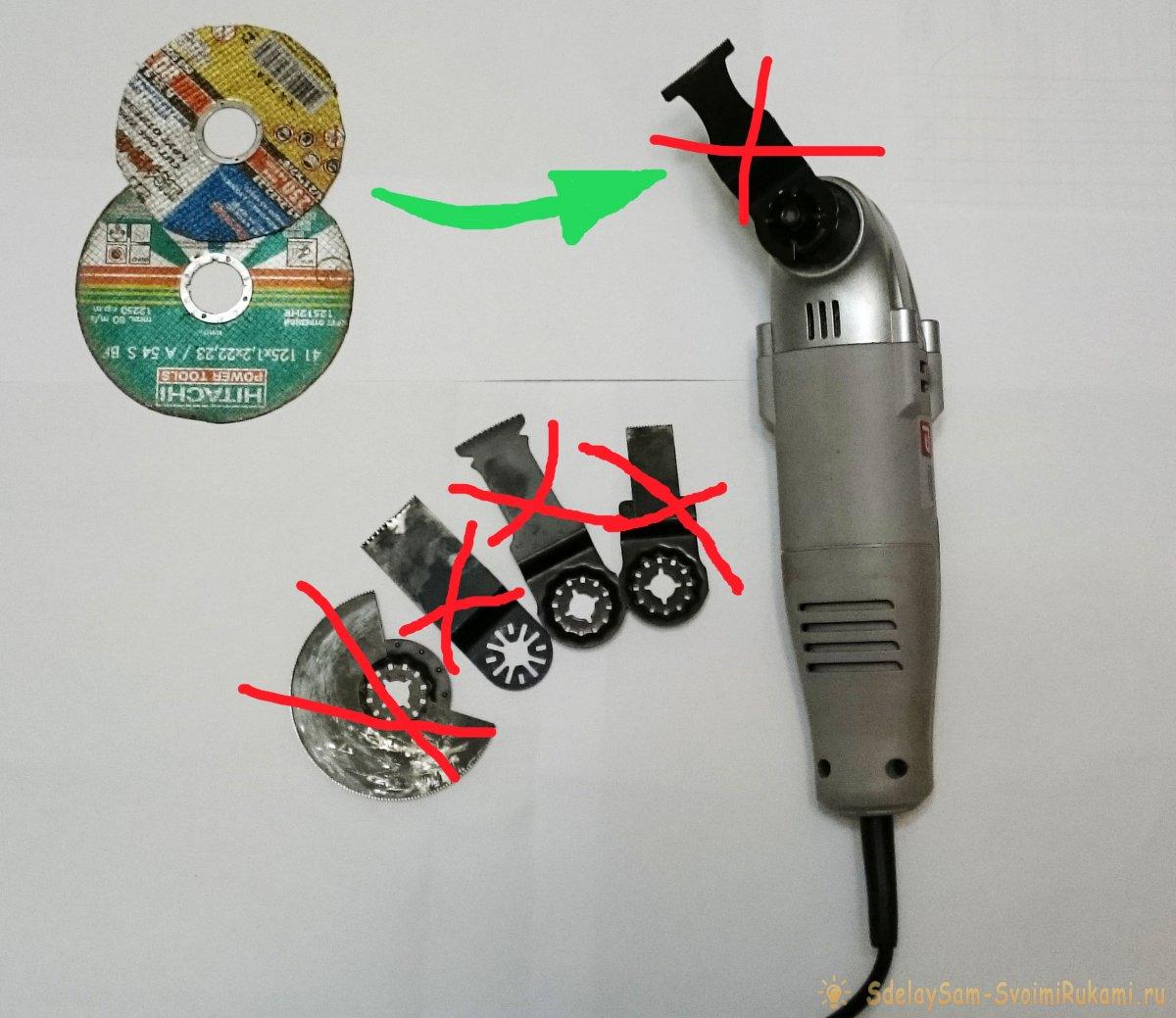 Реноватор Bosch как выбрать насадки для реноватора Особенности оснастки для аккумуляторного многофункционального инструмента