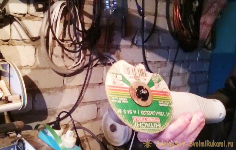 Универсальная насадка для реноватора (МФИ) своими руками