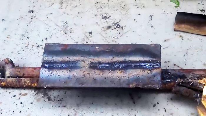 Как автоматизировать сварочный процесс лежачим электродом