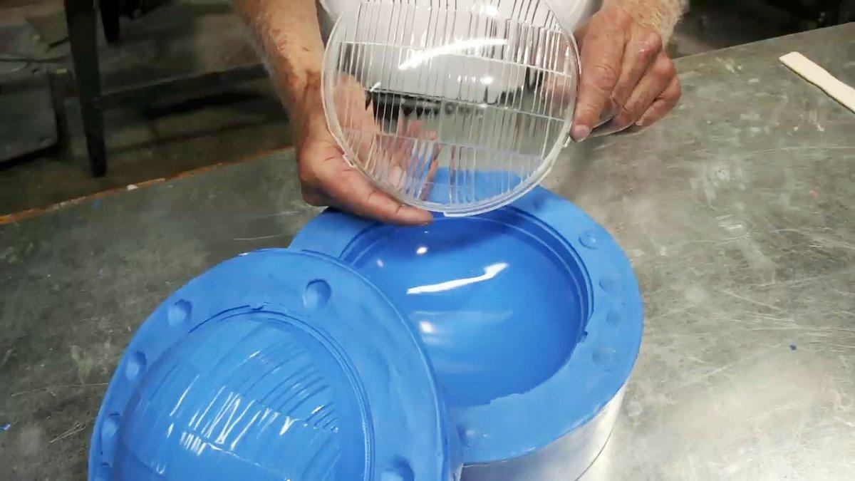 Технология литья линз для фар