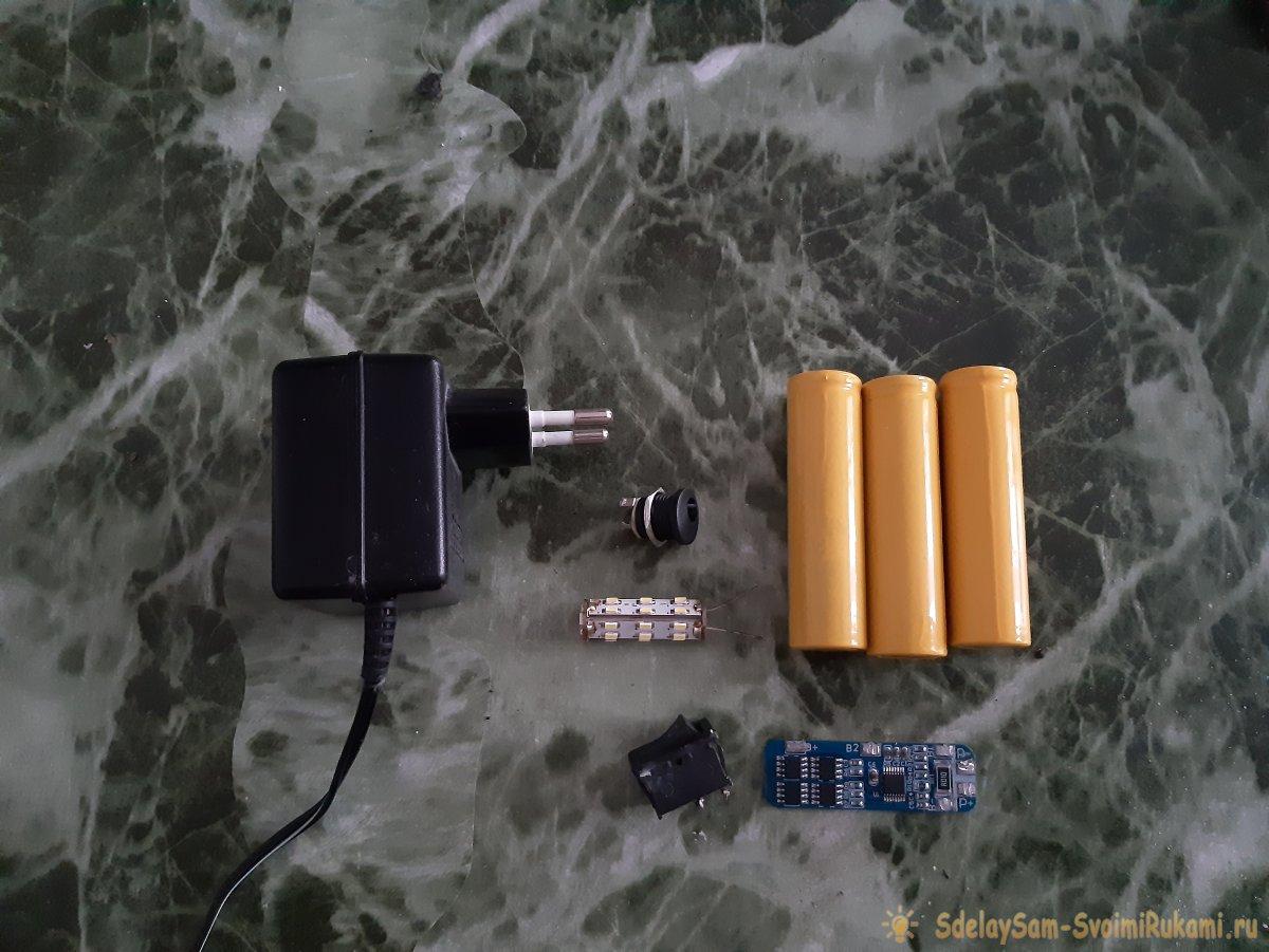 Как сделать настольную лампу из старой кружки (со встроенным аккумулятором)