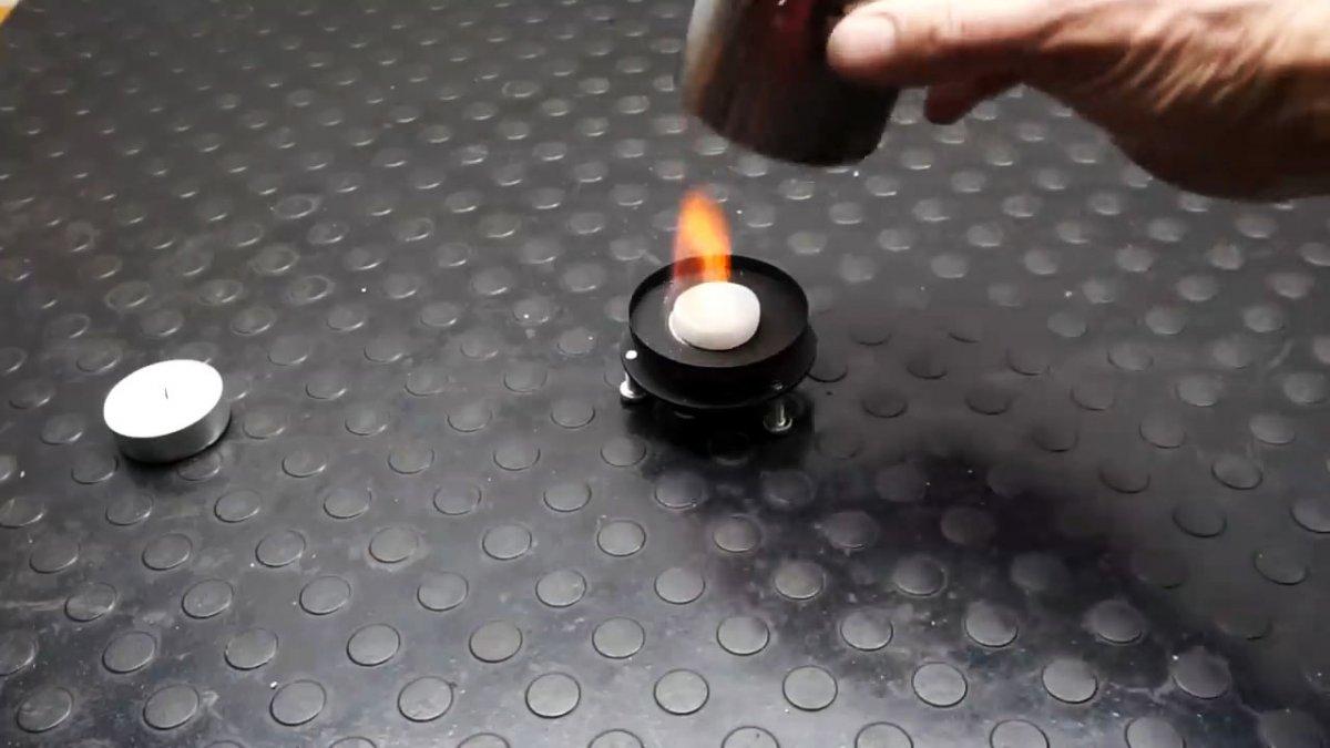 Как из старого масляного фильтра сделать компактный обогреватель