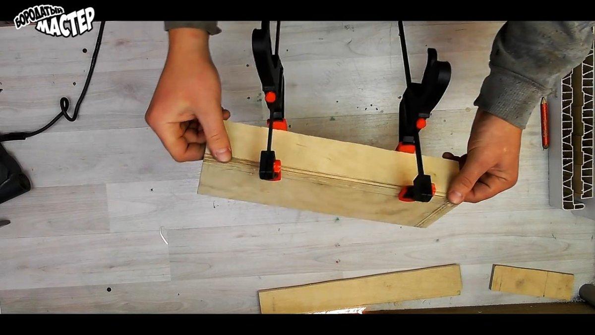 Как сделать из остатков подоконника полезный органайзер для инструментов
