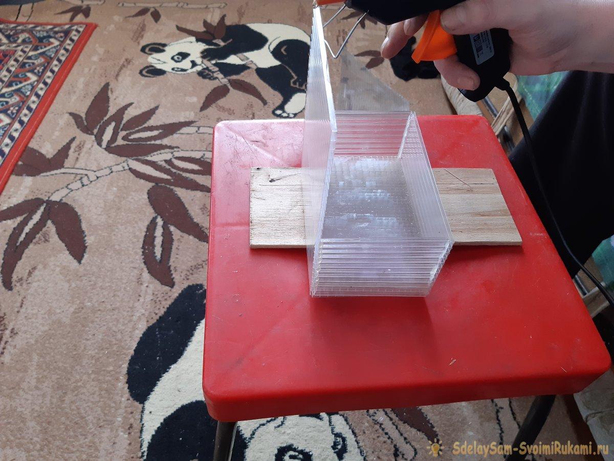Как из остатков поликарбоната сделать пенал для хранения мелкого расходного инструмента