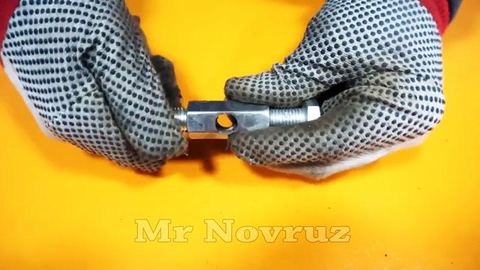 Как из напильника сделать настольные ножницы по металлу