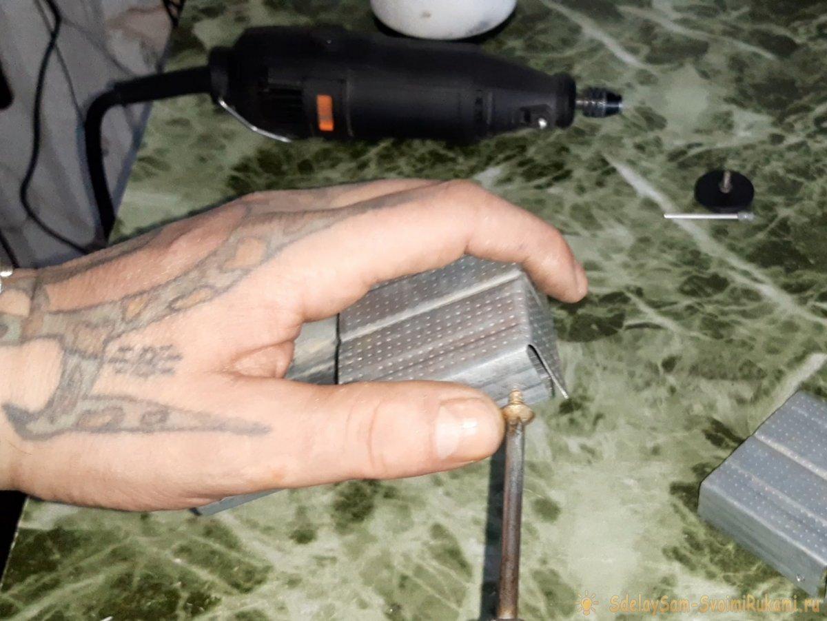 Как сделать армейскую карманную печь из остатков профиля