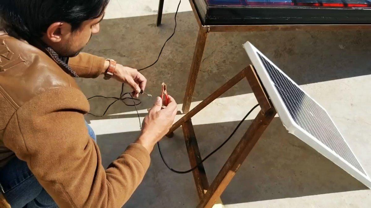 Как из алюминиевых банок собрать солнечный коллектор для отопления