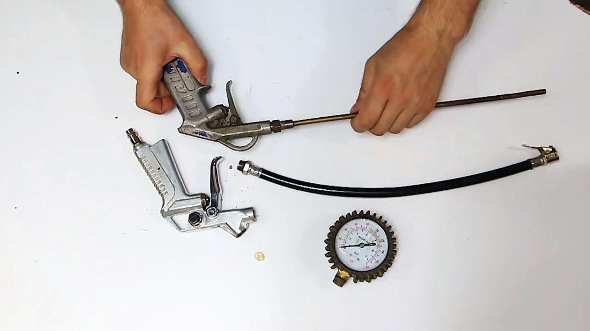 Простейшая пескоструйная насадка для компрессора своими руками