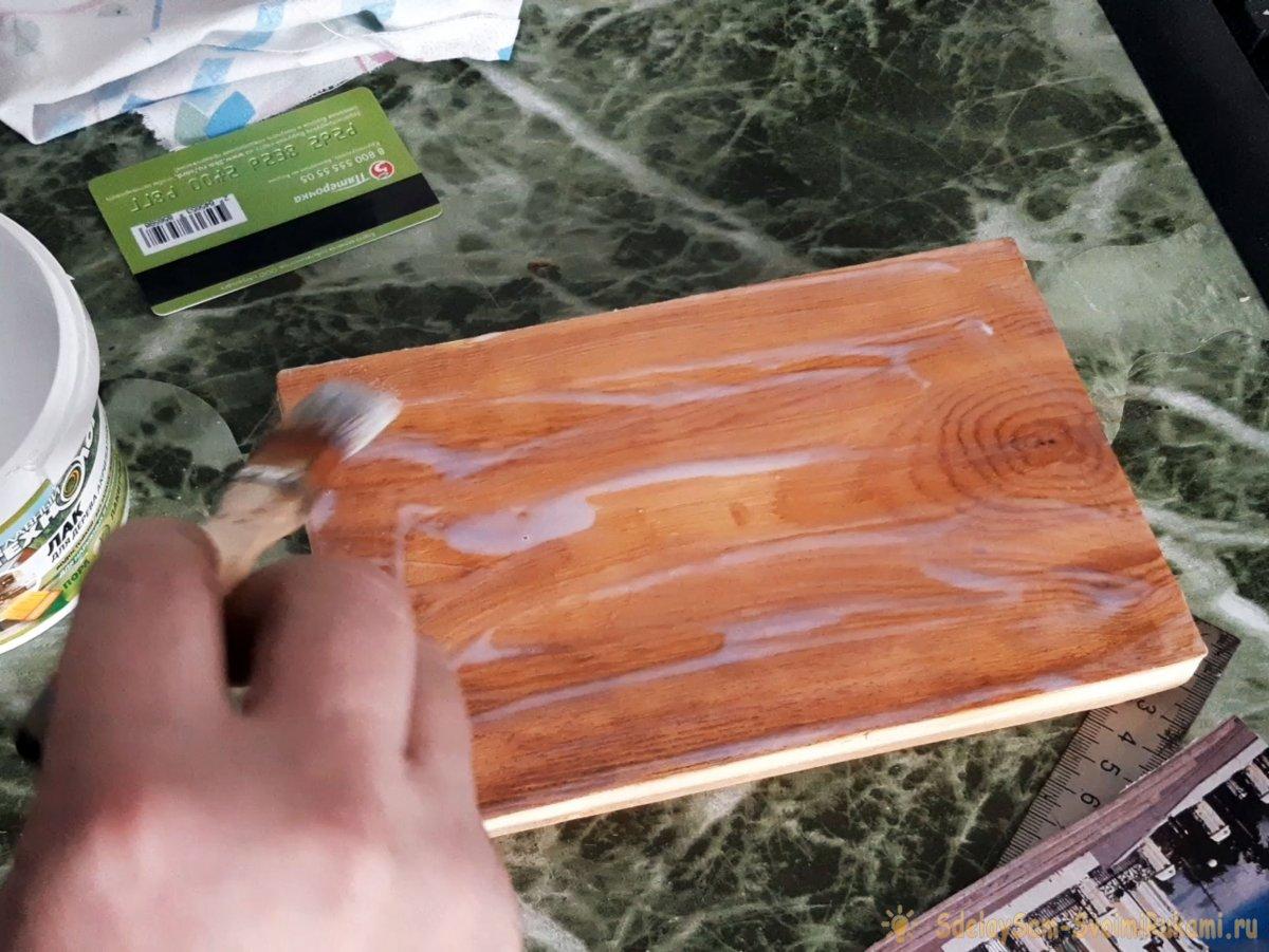 Как перенести любое изображение на деревянную поверхность