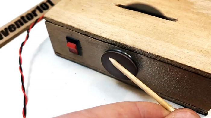 Как сделать миниатюрный циркулярно-точильный станок 2 в 1 для моделирования