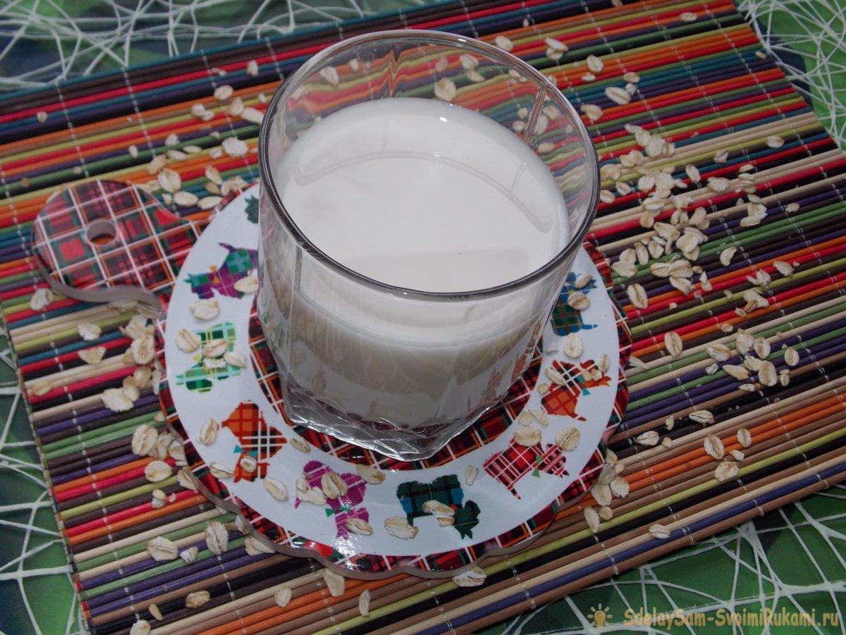 Как приготовить овсяное молоко в домашних условиях?
