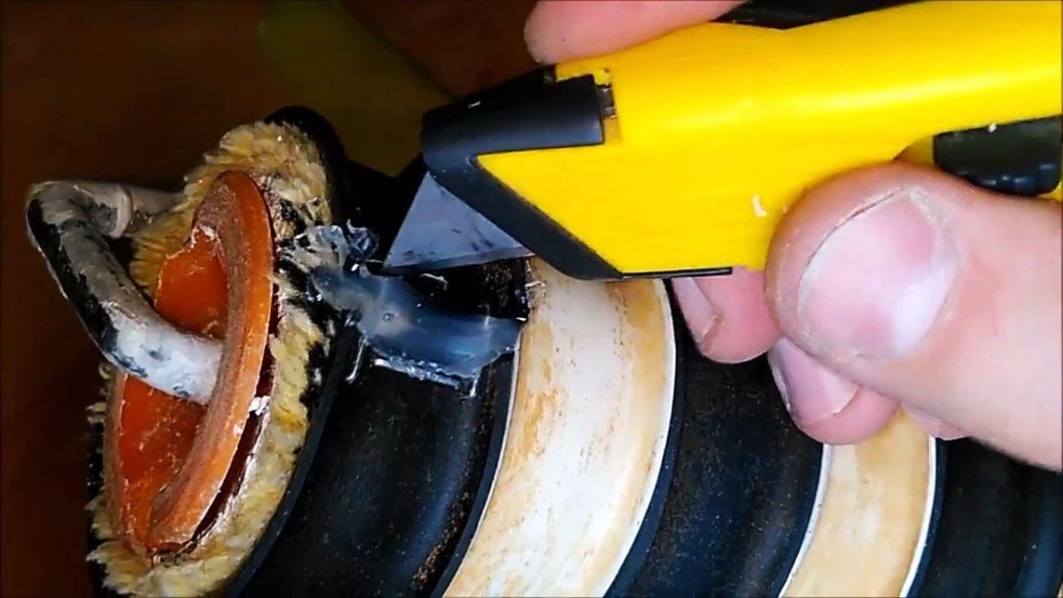 Как сделать фактурный валик для имитации бамбука по шпаклевке
