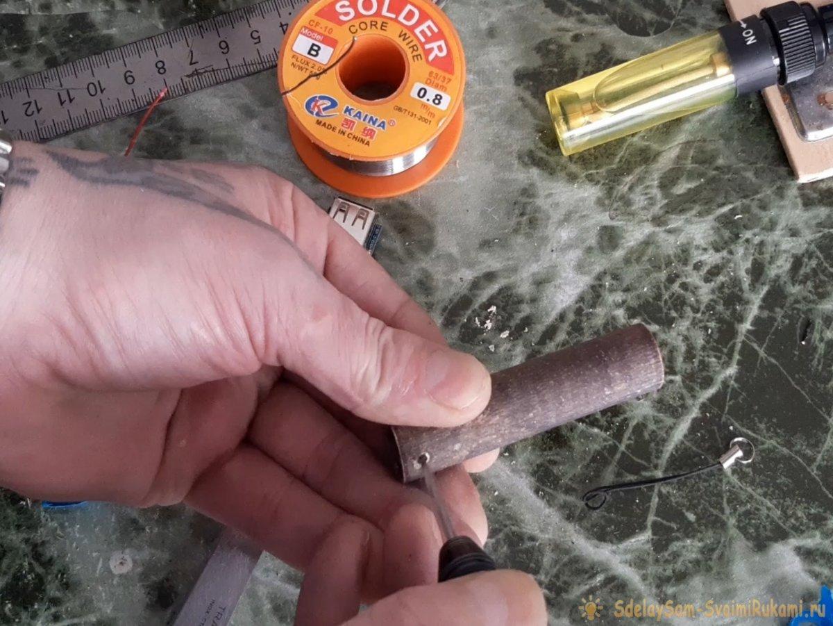 Как сделать Power bank - брелок