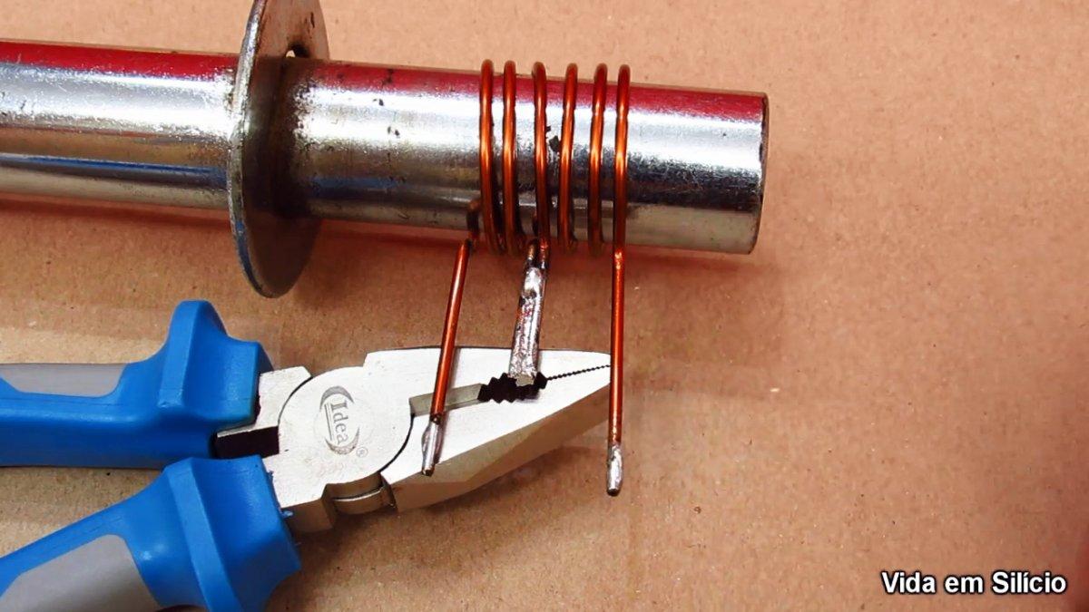 Как сделать простой индукционный нагреватель