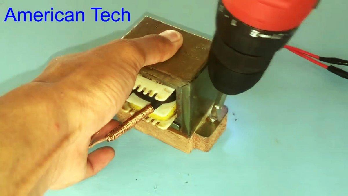 Паяльник с моментальным нагревом из трансформатора своими руками