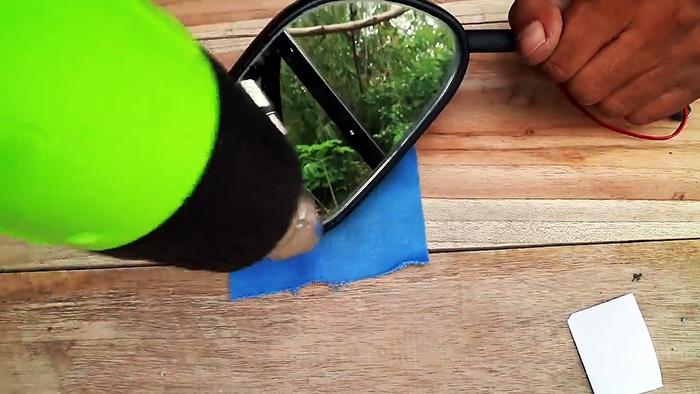Как сделать LED повторители поворотников в зеркалах заднего вида