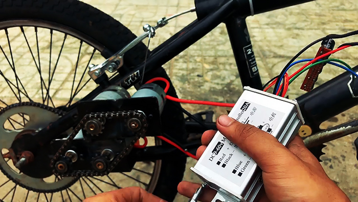 Как сделать электровелосипед на 4 маломощных моторах, разгоняющийся до 70 км/ч