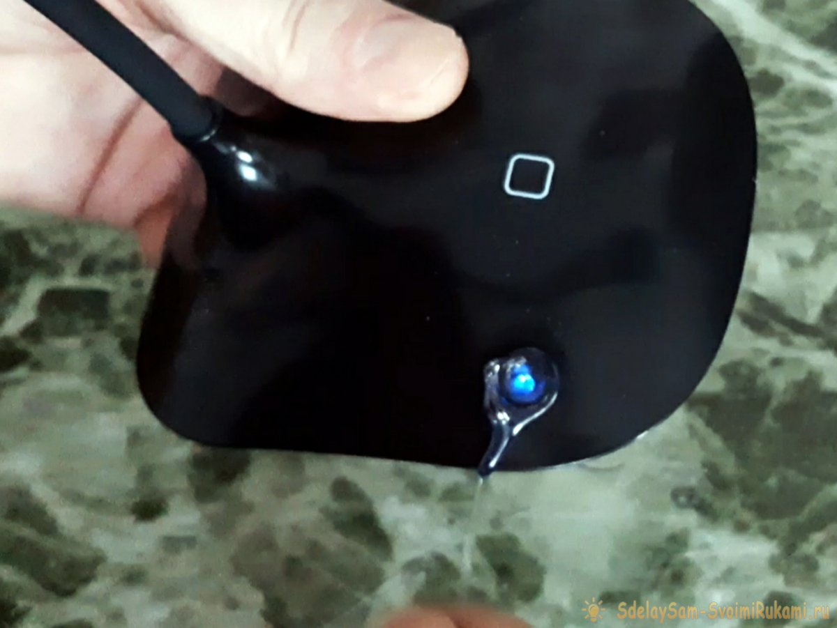 Как перевести устройство с батареек на аккумулятор, со встроенной зарядкой