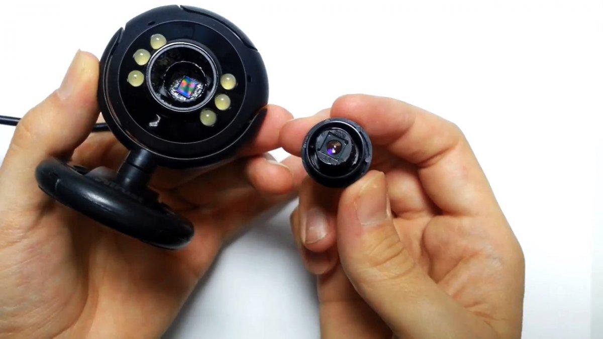 Что можно увидеть, если у веб камеры удалить ИК фильтр?