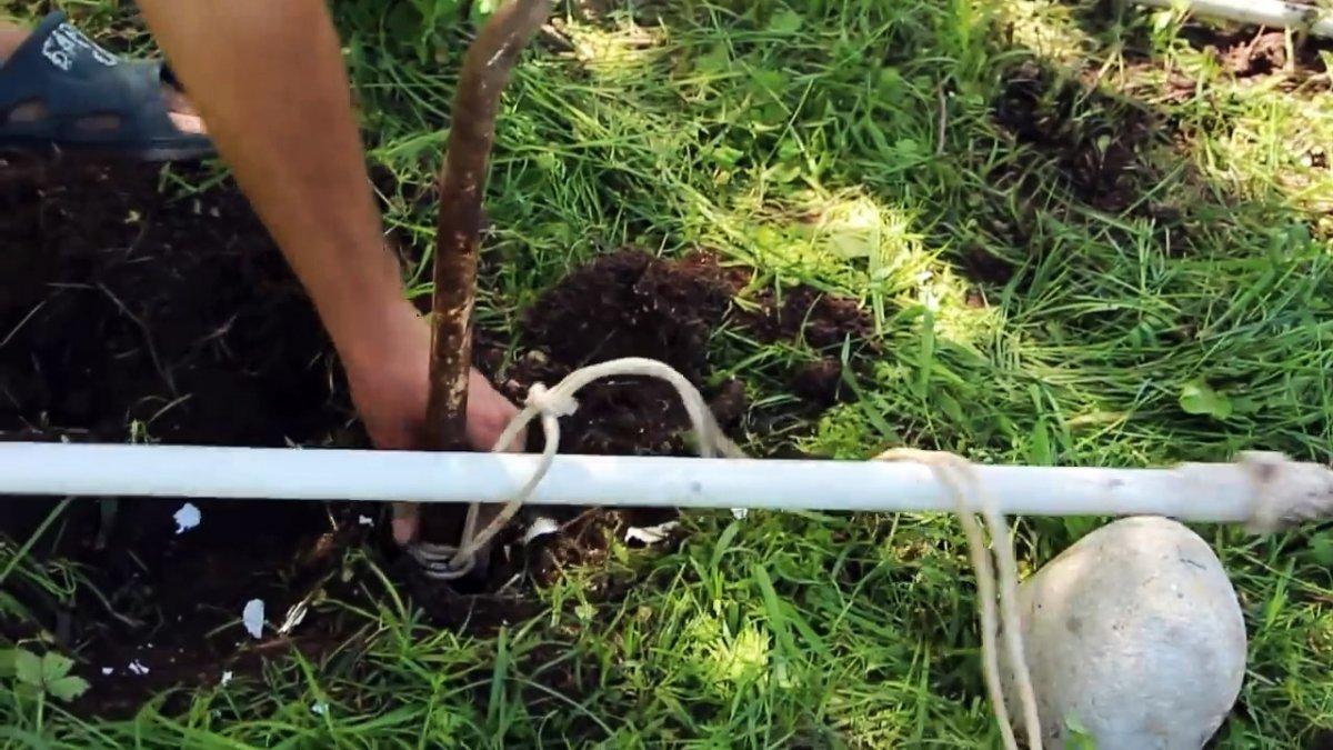 Как вытащить трубу из земли