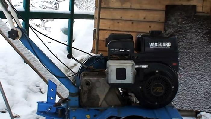 Как перевести бензиновый мотоблок на газ