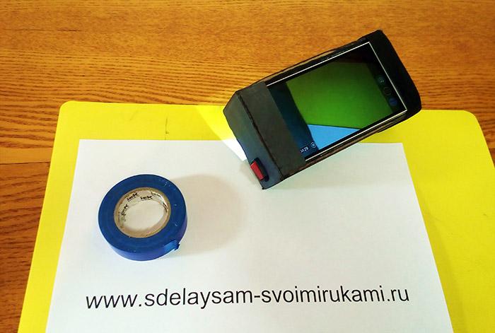Прибор ночного видения из смартфона своими руками