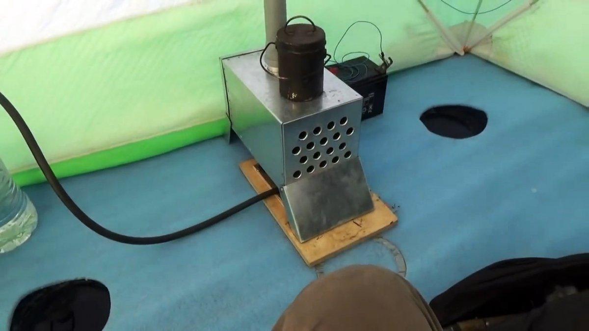 Материал для теплообменника в палатку