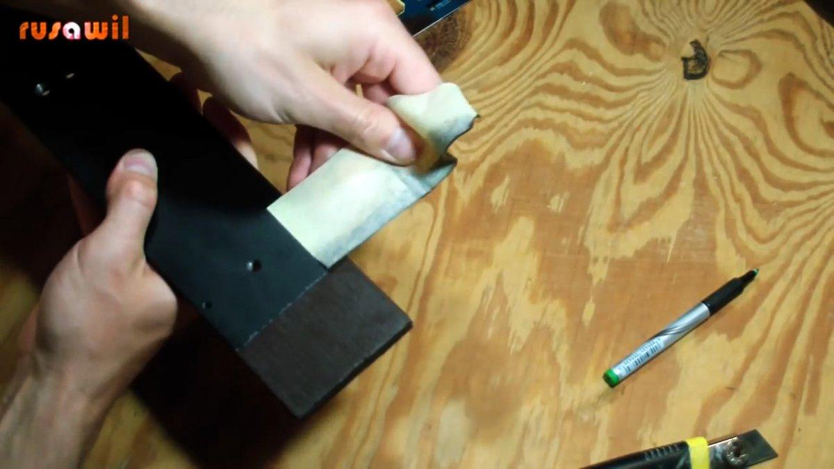 Как сделать обрезинивание металла