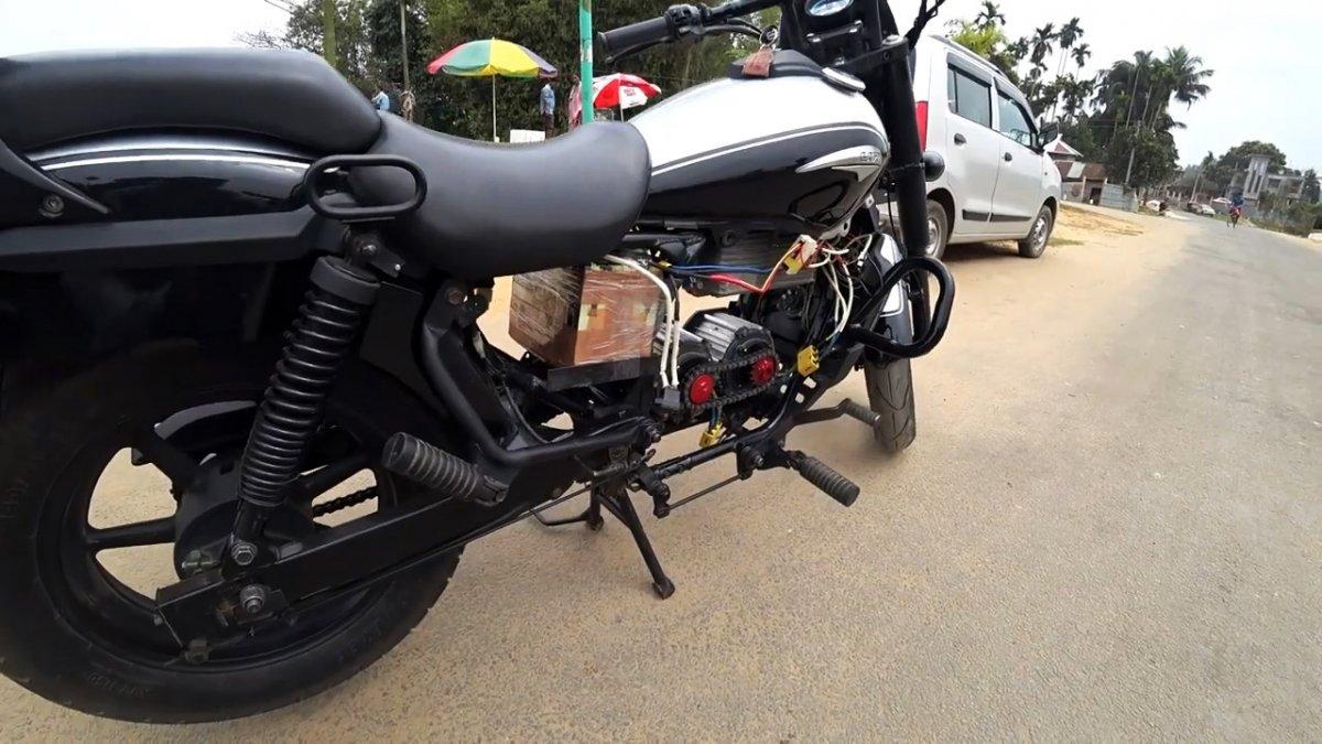 Как переоборудовать мотоцикл в электробайк развивающий скорость 80 км/ч