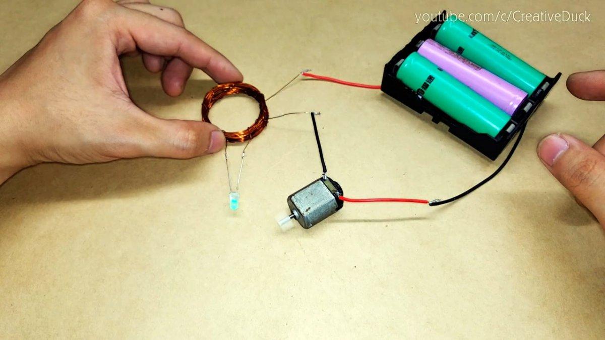 Беспроводная передача электричества без единого транзистора
