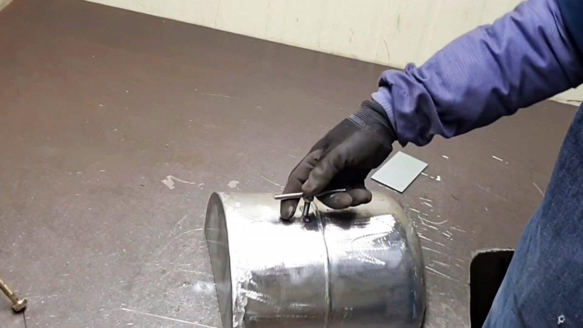Как сделать походную духовку-плиту из баллона