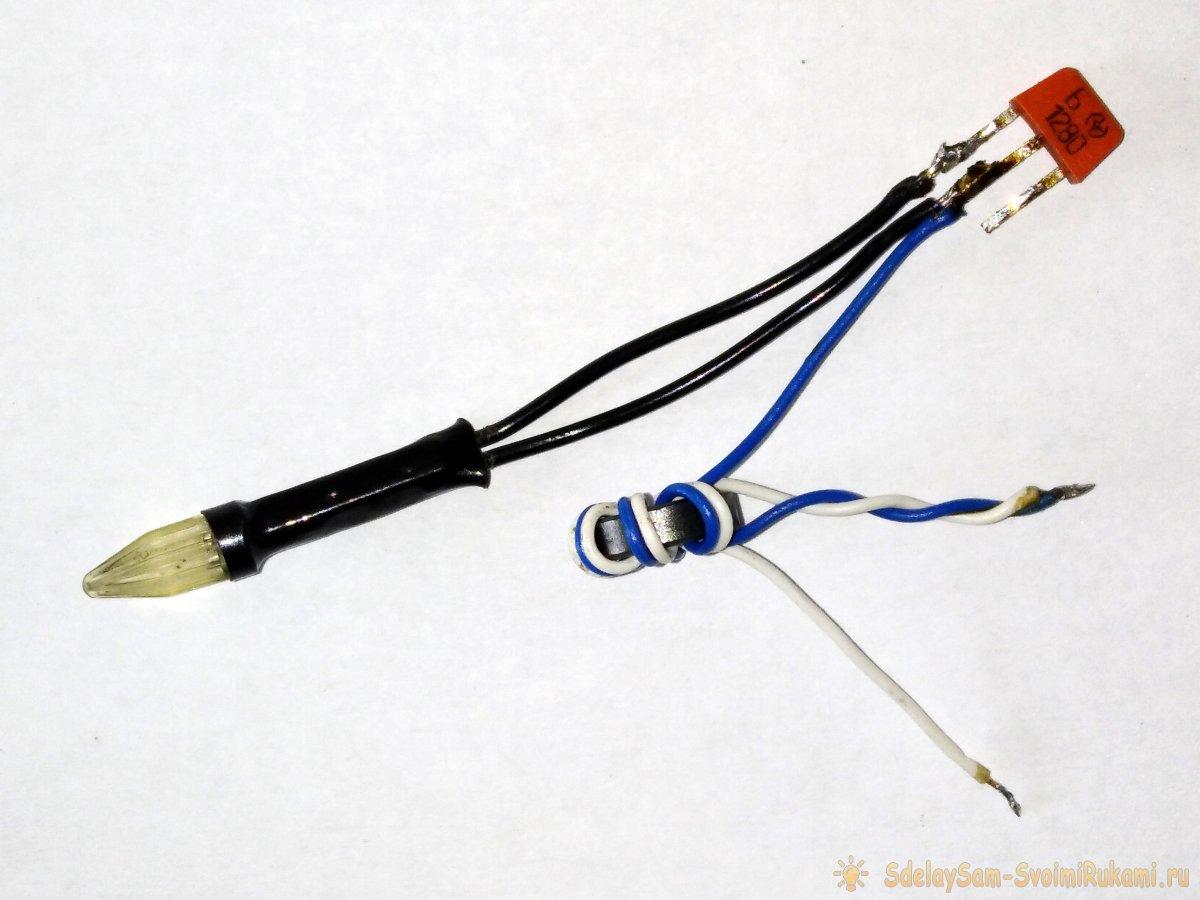 Преобразователь который заставит светится светодиод от одной батарейки