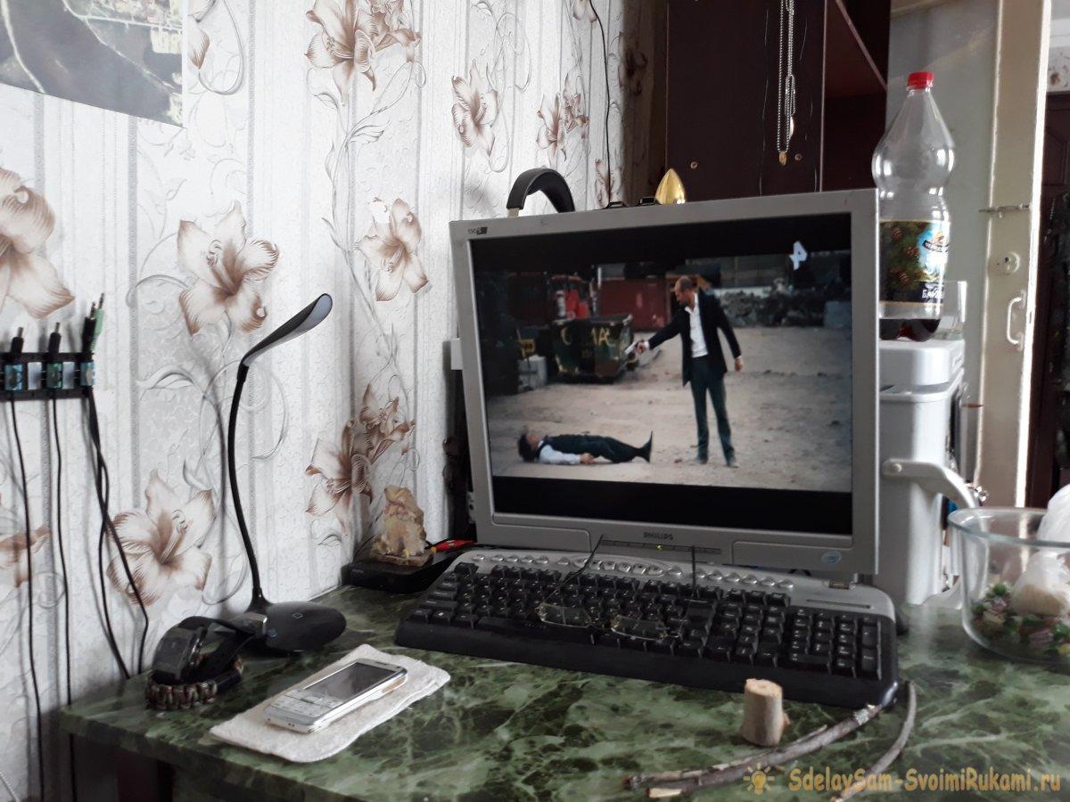 Как подключить приставку DVB-T2 компьютерному монитору